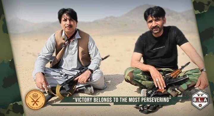 Dr Allah Nazar and Aslam Baloch
