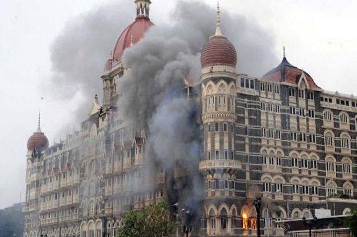 26/11 Terrorist attacks by Pakistani Terrorists on Hotel Taj in Mumbai, India.