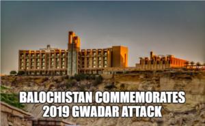 Balochistan Commemorates 2019 Gwadar Attack
