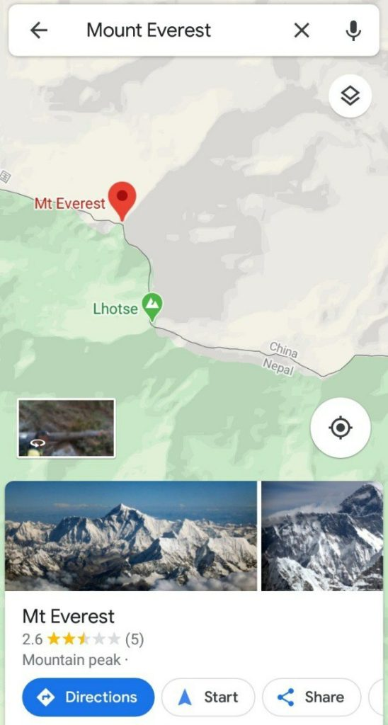 Nepal Surrenders Mt Everest to China:  Mt Everest Shown as Chinese Territory