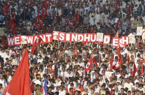 Freedom movement in Sindhudesh