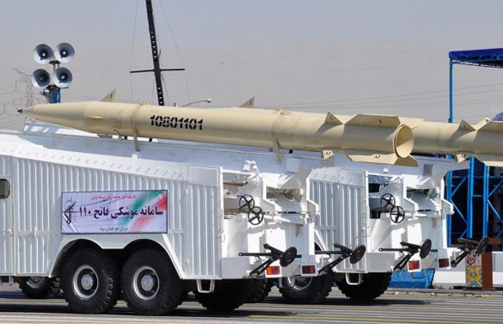 Iranian Fateh-110 Missile