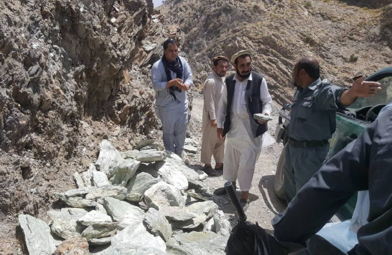 Afghanistan Army taking control of the Nephrite mine from Taliban control and plunges a big revenue source for Taliban
