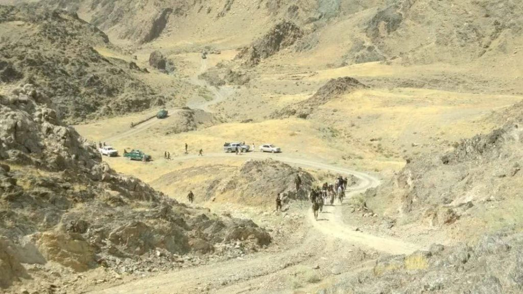 Afghanistan Army Frees Nephrite mine from Taliban