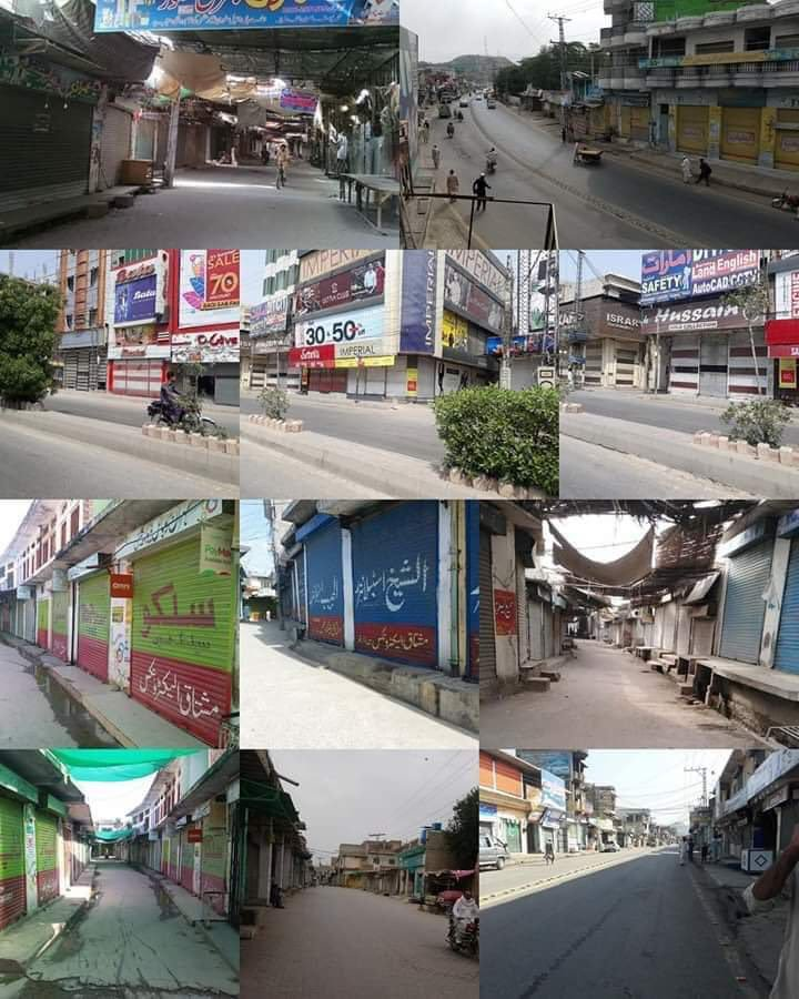 Complete Shutters-Down Strike Across Pakistan by small traders.