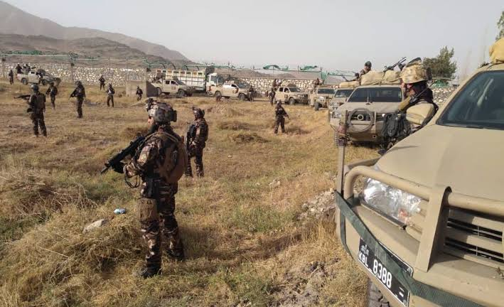 Afghanistan Army preparing to attack Taliban Terrorists