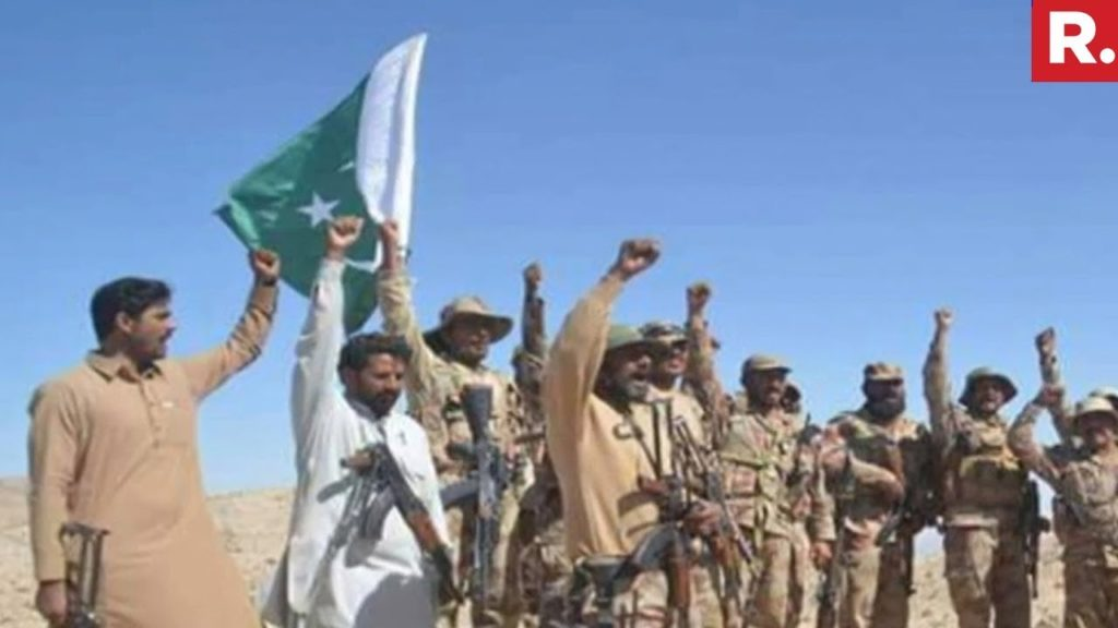 Pakistan Army along with members of Death Squad