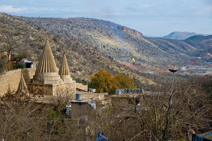 A Yazidi Temple