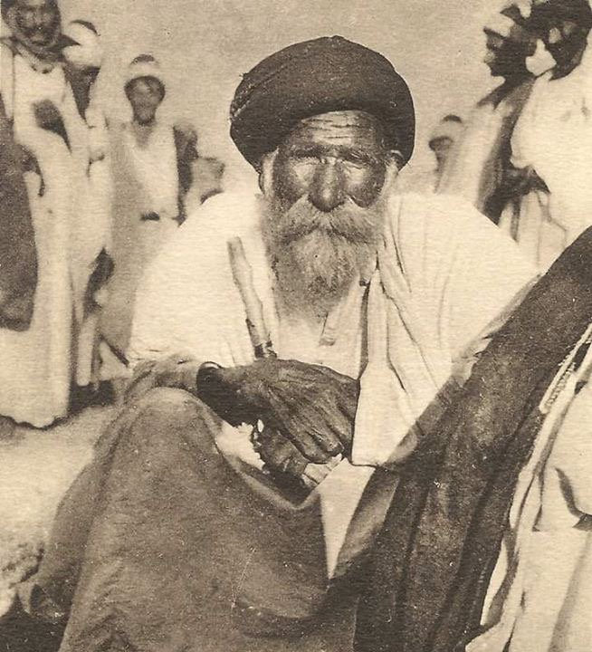 A Yazidi old man witness of countless atrocities by Islamist Radicals