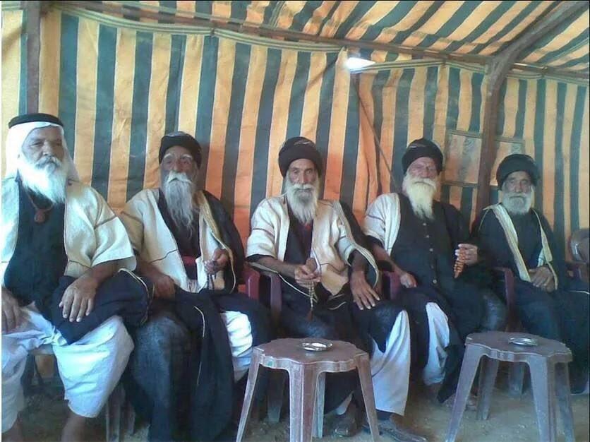 Yazidi Priests