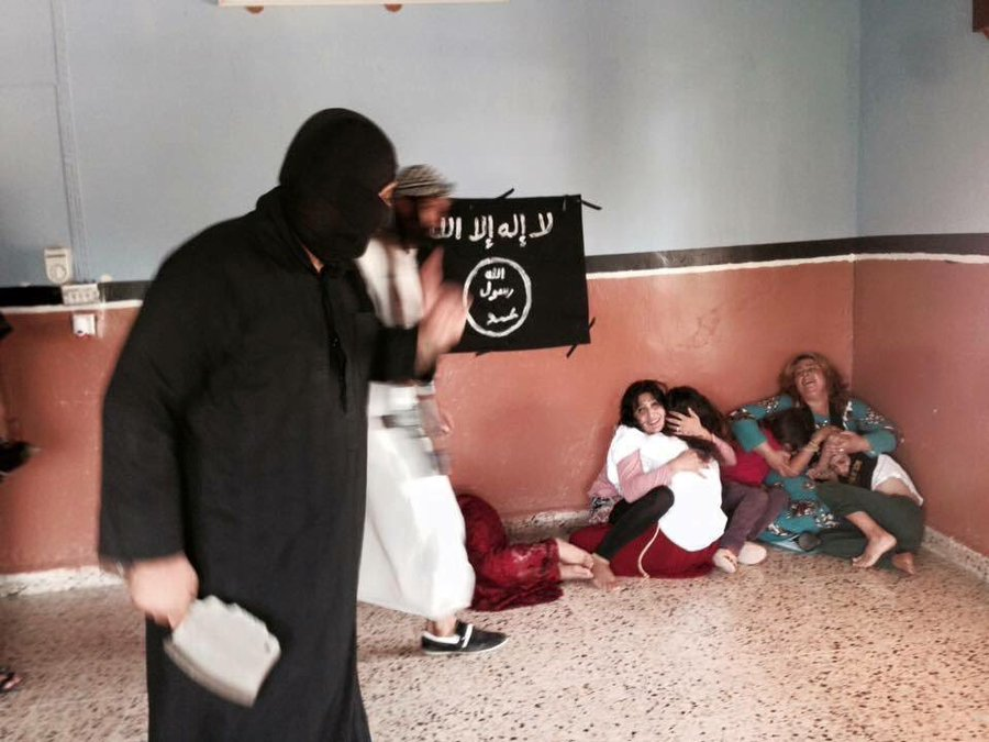 Atrocities on Yazidi females. Thousands were raped by ISIS Terrorists