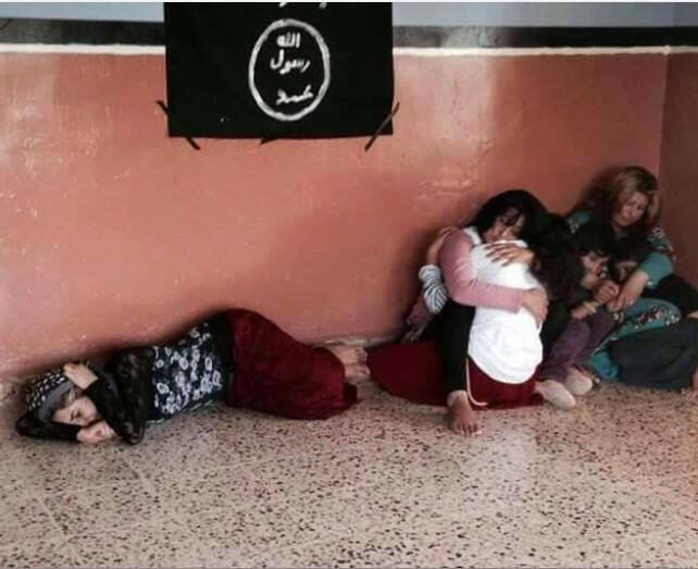 Yazidi females in ISIS Captivity