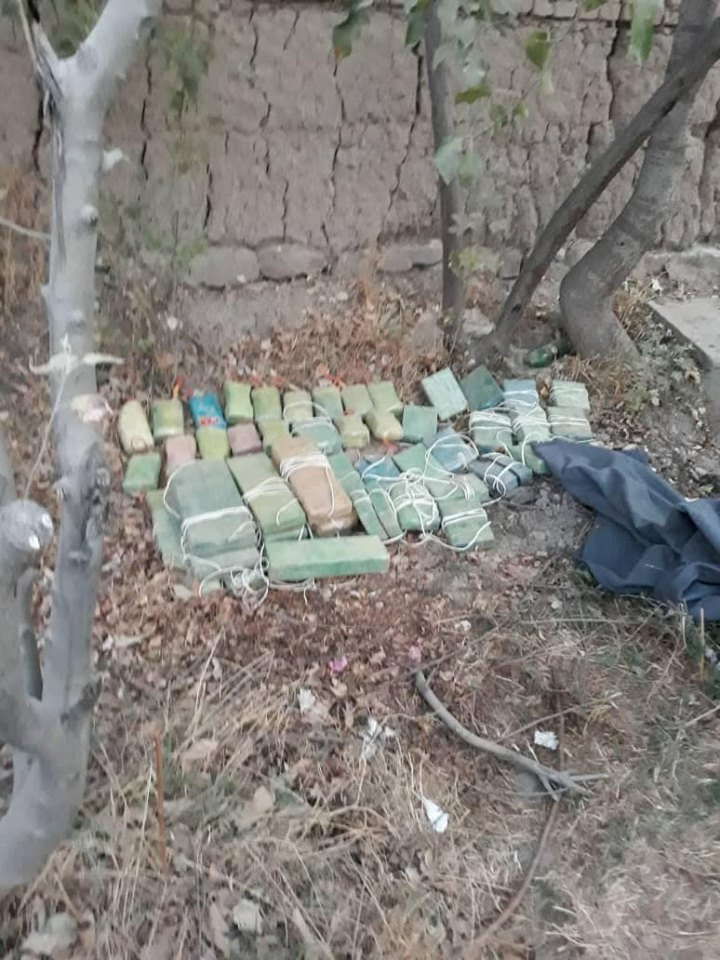 Roadside Bombs discovered and neutralized