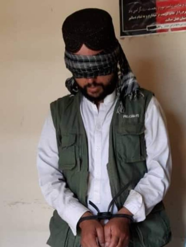 The Haqqani Network (HQN) Pakistan based and Pakistan Army funded and sponsored Terrorist network assassin was arrested