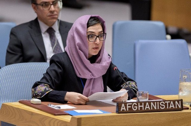 Afghan envoy to United Nation Adela Raz