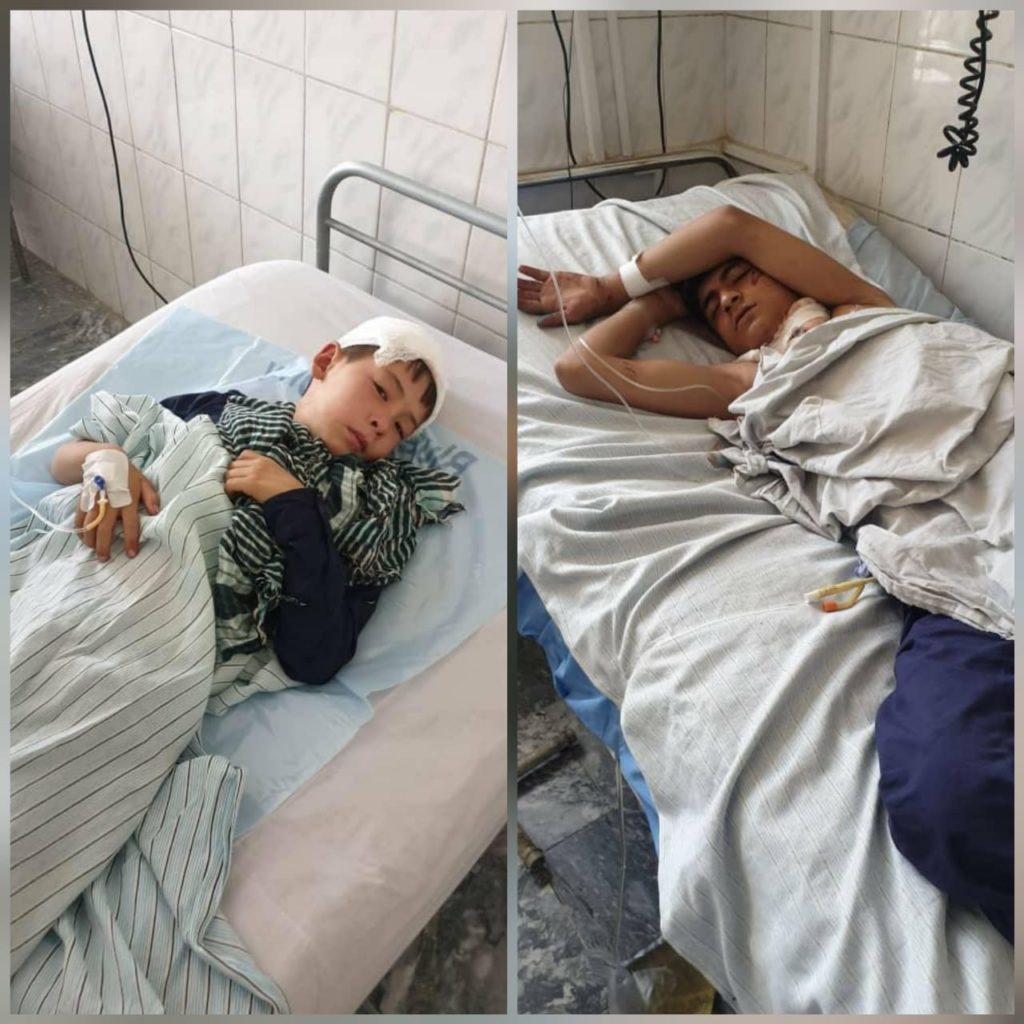 Victims of suicide bomb blast in Kabul. Taliban claimed they killed Afghanistan security forces. Are these children security forces?