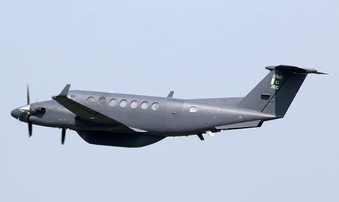 US made Beechcraft King Air 350 twin turboprop that crashed in Pakistan that unverified reports told was carrying Osama Bin Laden's Son, Hamza Bin Laden