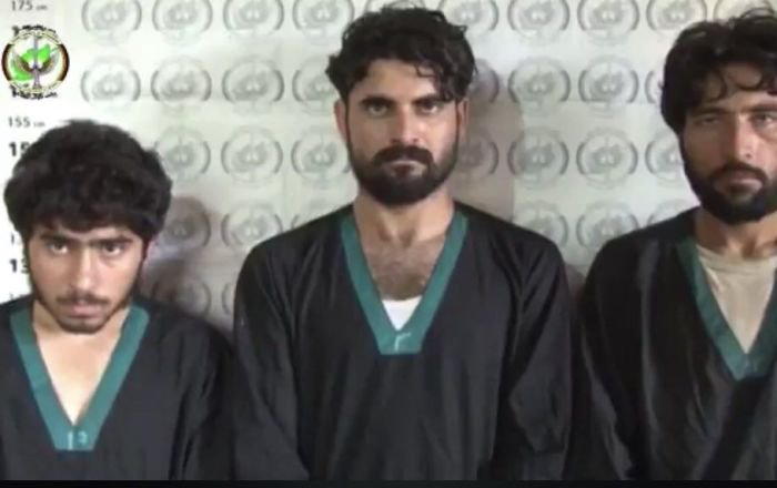 Three Terrorists Arrested by Afghan Security Forces.