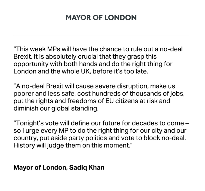 Mayor of Londonistan, Sadiq Khan's Letter