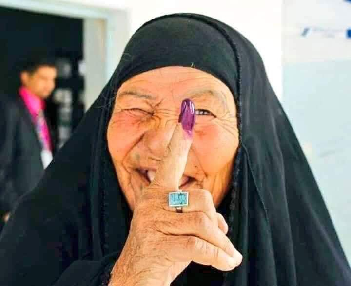 Despite threats from Pakistan backed Taliban Terrorists, People voted during Afghan Elections.