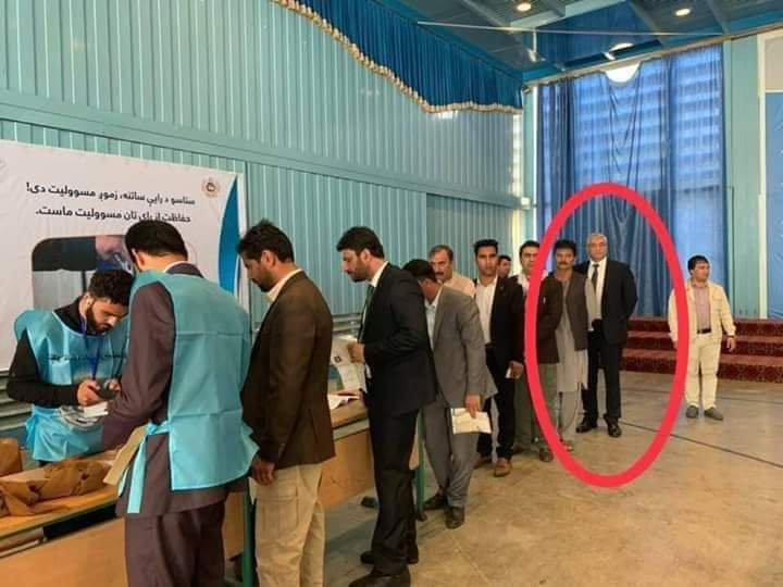 Afghan Election 2019: Chief Justice of Afghanistan was also seen waiting in line to cast his vote