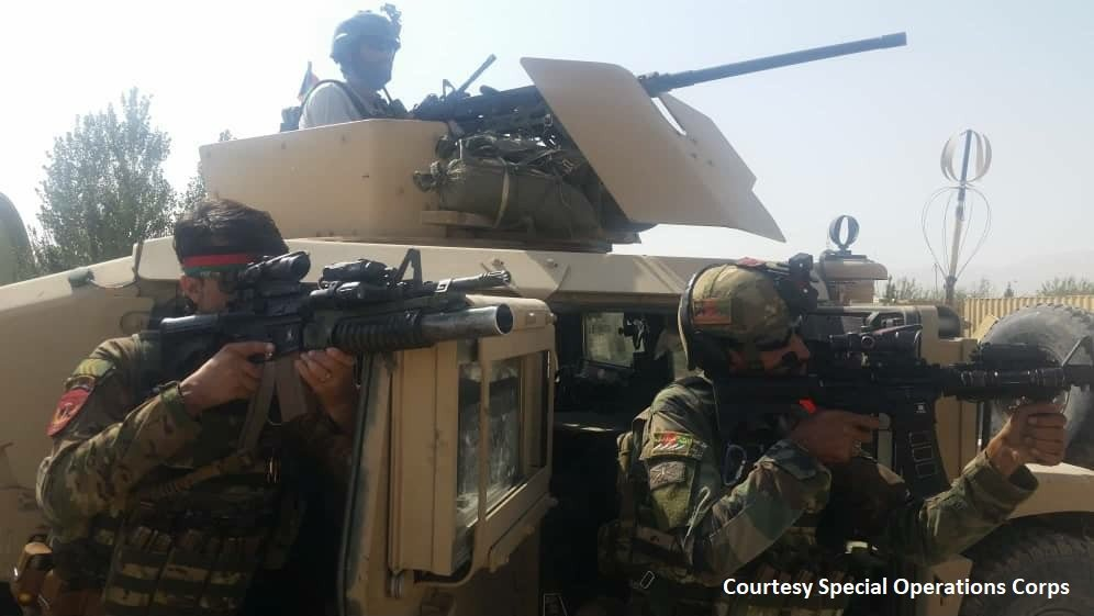 Major Offensive by Afghan Security Forces against Taliban Terrorists