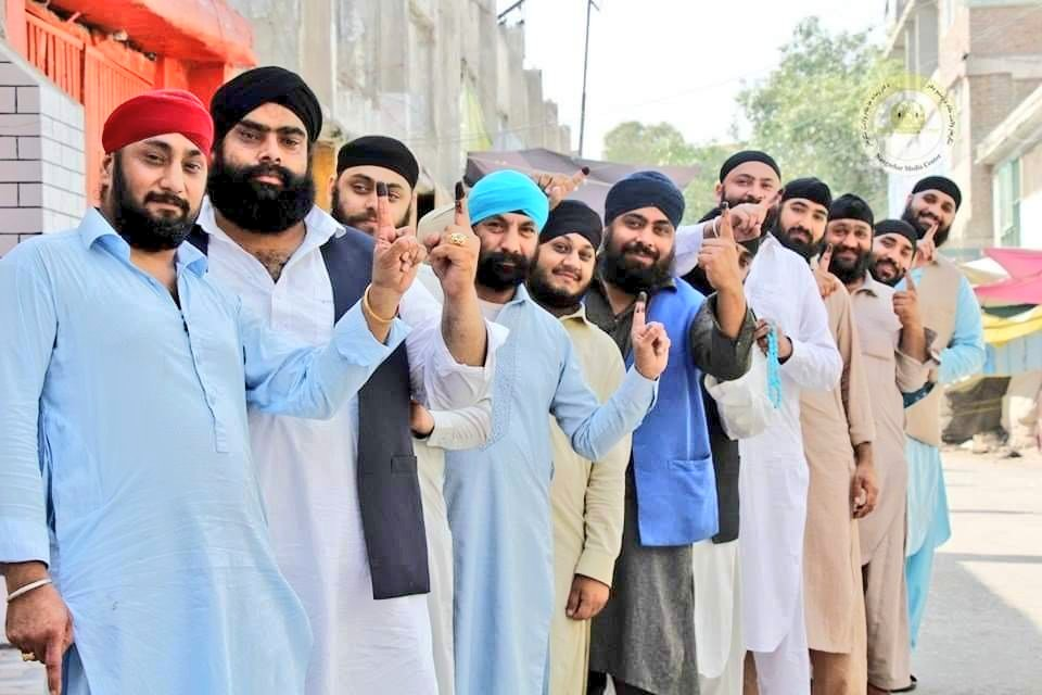 Afghan Election 2019: Minority Sikhs and Hindus also voted in Afghan Elections