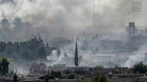 Turkey Committing War Crimes: White smoke screen seen in Syrian town