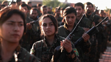 US President Trump Imposed Sanctions on Turkey for killing Kurds in Syria: Kurdish fighters getting ready to defend from Turkish Invasion