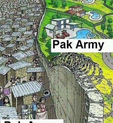 Standard of Living of Pakistan Army versus Pakistan General Public