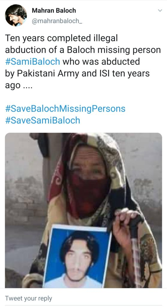 Pakistani army continues its Genocide In Balochistan