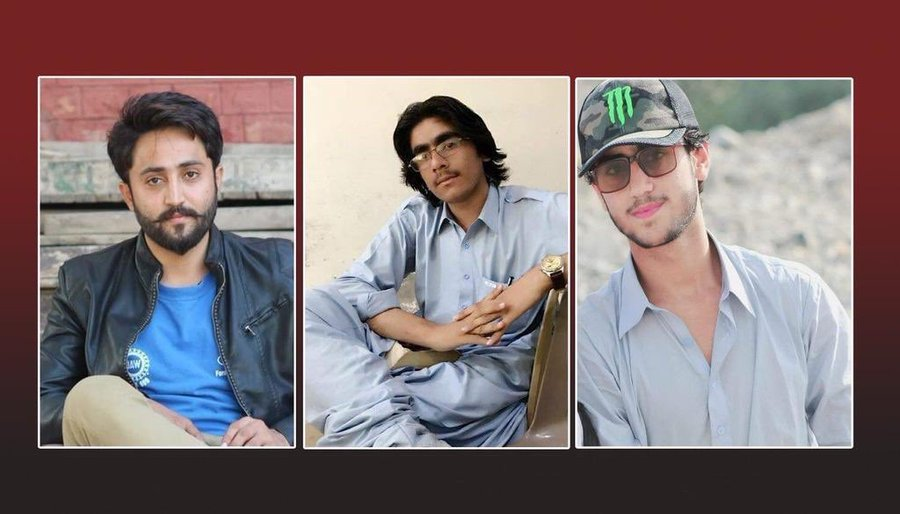 Atrocities By Pakistan Army: Some of the Baloch youth who were disappeared by Pakistan Army