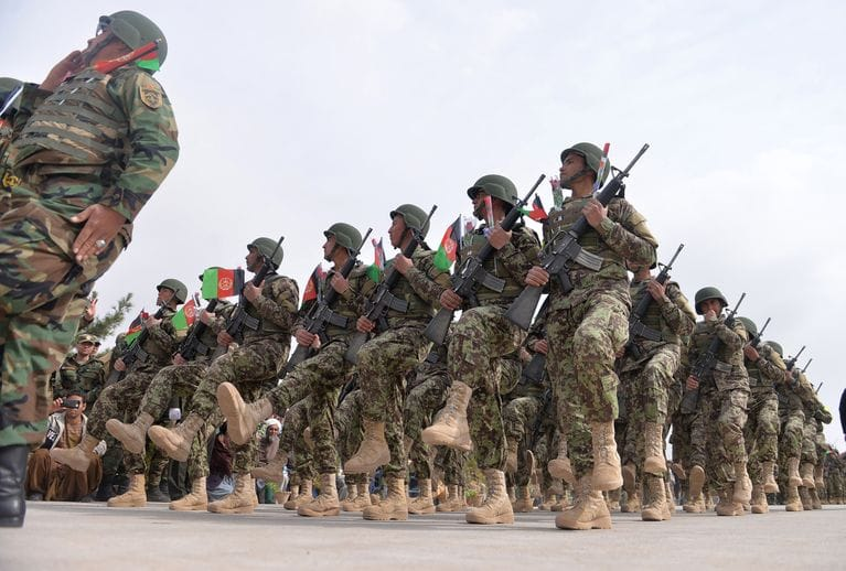 Afghan Security forces: Ready for the action