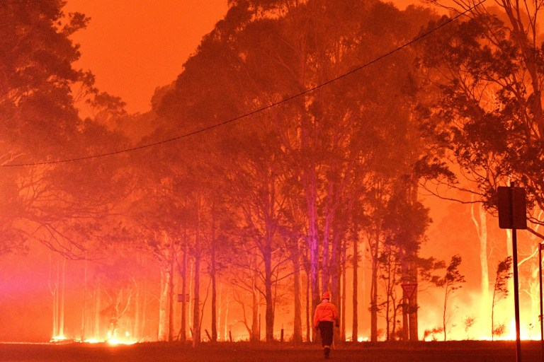 Burning Forests in Australia
