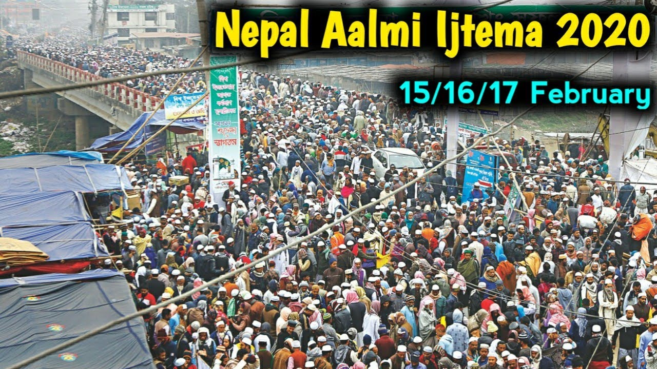 Anti-Hindu Riots in New Delhi were Planned in Nepal during Nepal Aalmi Ijtema 2020 held between 15 to 17 February 2020.