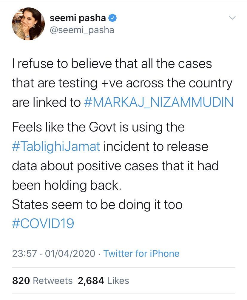 Liberal Leftist Press adding fuel to Fire in India by supporting defiant Tablighi Jamaat and not condemning them